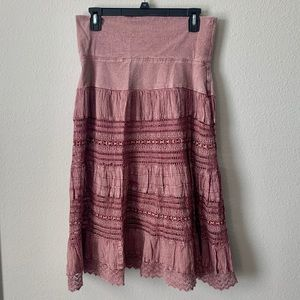 Now & Then Flowy Skirt